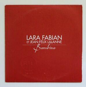 LARA-FABIAN-prix-mini-BAMBINA-PROMO-CD-SINGLE-RTL