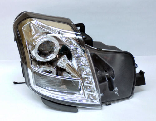 Cadillac CTS 03-06 Projector Halo Angel Eye LED Headlights Clear