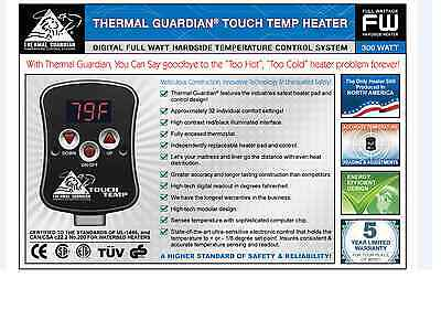 DIGITAL HARDSIDE WATERBED HEATER for  Queen Size FAST SHIPPING!