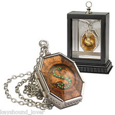 HARRY POTTER SLYTHERIN CRYSTAL SNAKE HORCRUX LOCKET PROP REPLICA New Rare