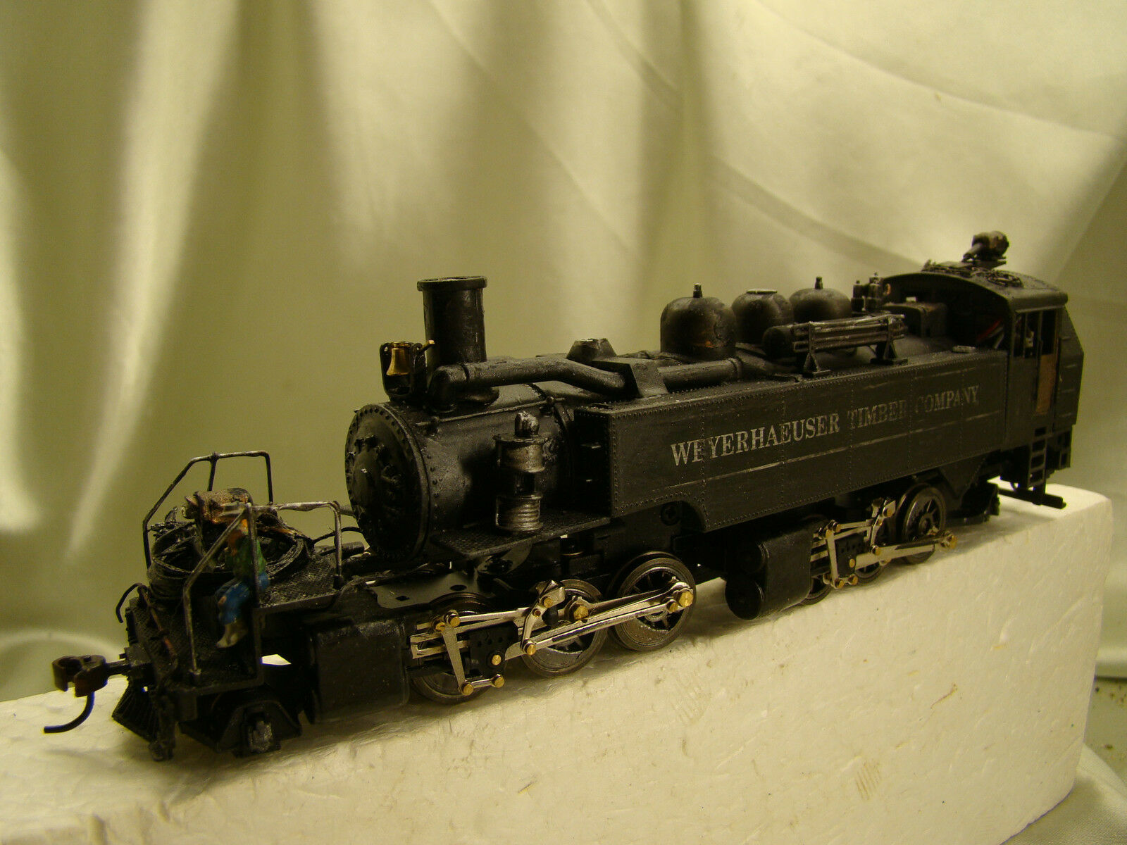 1Mantua Logger 2 6 6 2 Boscaioli Locomotiva - DCC - SUONO -personalizzato