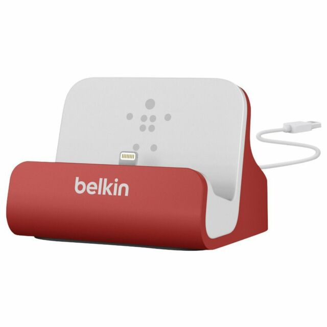 BELKIN MIXIT Lightning Dock for iPhone 5 Red