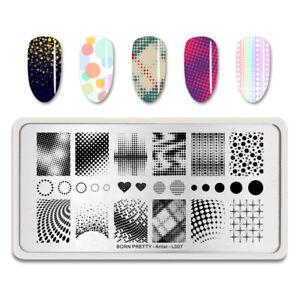 BORN-PRETTY-Nagel-Stamping-Schablone-Artist-Series-Heart-Nagel-Schablone-L007
