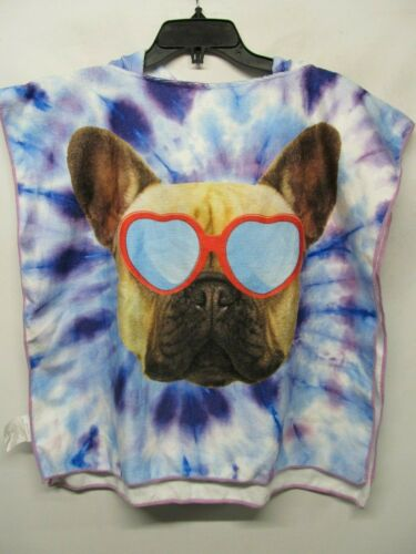 Kids towel with hoodie DOG multicolor one size NWT Lot#R