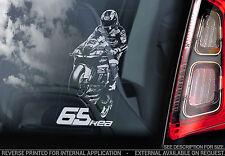 Jonathan Rea #65 - Superbikes Car Window Sticker -World MotoGP Kawasaki WSB Sign
