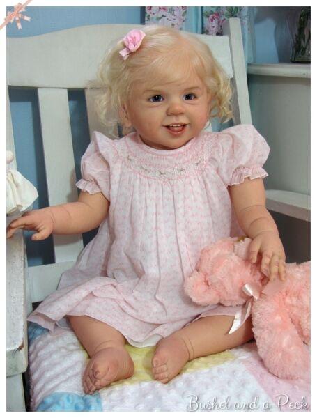 Jette Toddler bambola KIT PARTI  IN VINILE vuota per fare un rinato bambino-non completato  risparmia il 35% - 70% di sconto