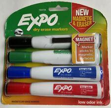 Vintage Expo Markaway Eraser 81502 w// Black Chisel Tip Marker New Old Stock