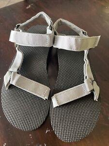 Teva Womens Original Universal Sport Sandal Hiking Beach Lite Gray 8
