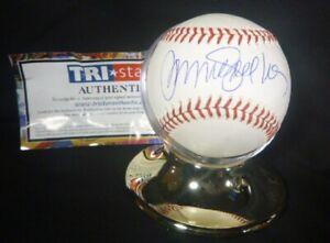 RYNE-SANDBERG-AUTO-SIGNED-BASEBALL-MLB-amp-TRISTAR-AUTHENTIC-HOF-039-er-CHICAGO-CUBS