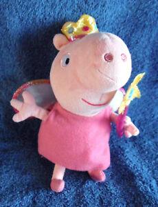 1903a-TY-Princess-Peppa-Pig-plush-15cm