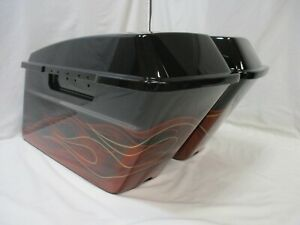 HARLEY-DAVIDSON-VAQUERO-LIMITED-SERIES-SADDLEBAGS-FOR-93-13-TOURING-MODELS