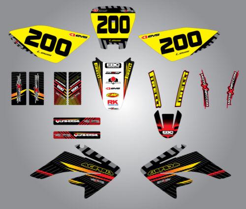 Honda CRF 70 2012 Full  Custom Graphic  Kit  FACTORY STYLE 80 100-2003