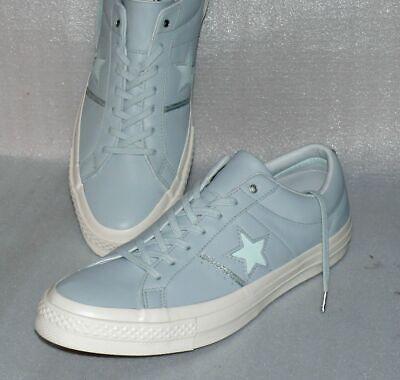 Converse 159702C ONE STAR OX Low Leder Schuhe Sneaker Boots 46,5 Hell Blau Crem | eBay