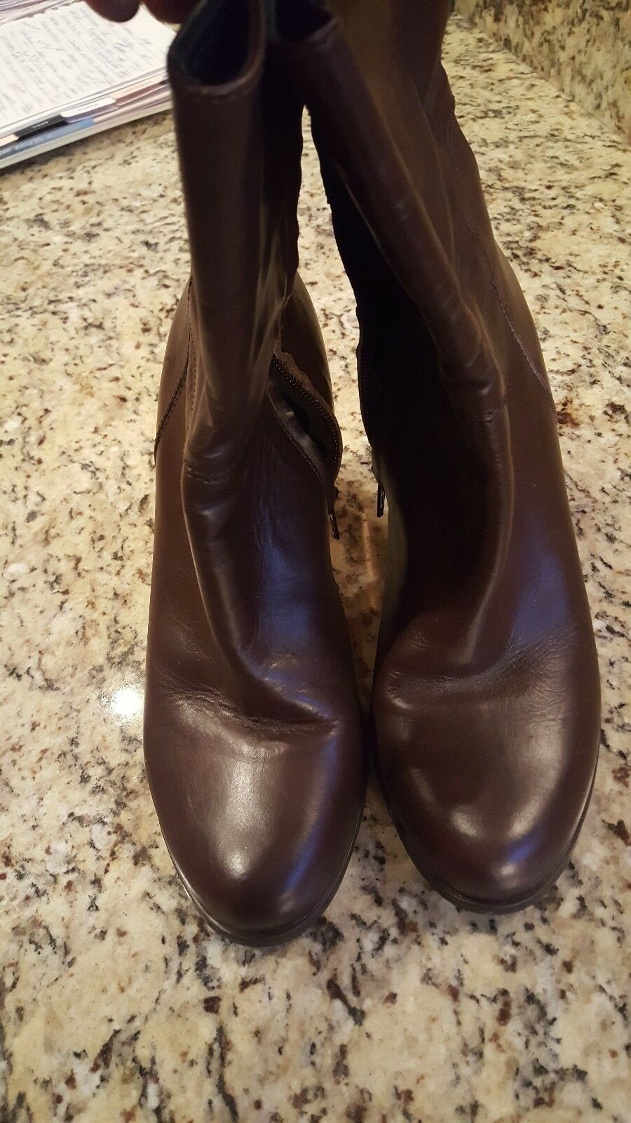 Eddie bauer women's size 10 m brown boots