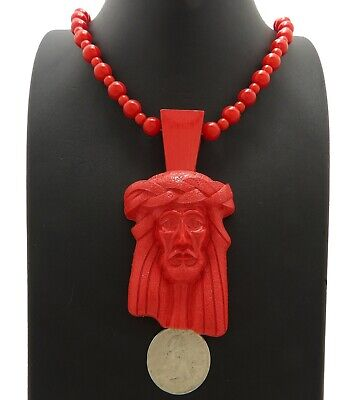 New Black Homaica Jesus Piece Pendant Necklace