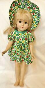 Vintage-1940-1950-Alphabet-dress-hat-for-Arranbee-NancyEffanbee-Ann-Shirley-Etc