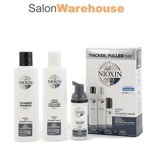 Nioxin-System-2-Starter-Kit-Fine-Natural-Hair-150-150-40ml-New-Release