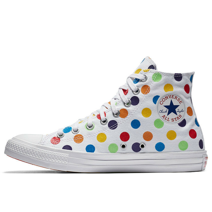 Converse Pride x Miley Cyrus Chuck Taylor All Star High Top 162252C LGBT shoes