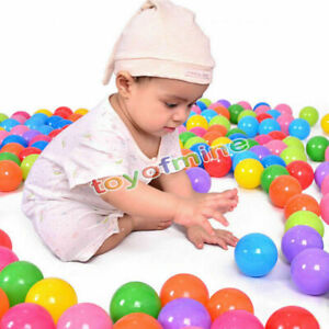 500-pcs-Baby-Kid-Pit-Toy-Game-Swim-Pool-Soft-Plastic-Ocean-Ball-5-5cm-US