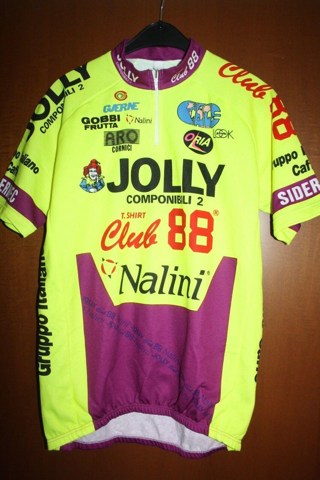 Maglia Radtrikot Shirt Maillot Ciclismo Jolly Componibili Club 88 Nalini Giro 93