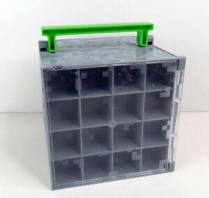 Minecraft Mini Figure Collector Case Storage Cube Playset 2014 MATTEL No Figures
