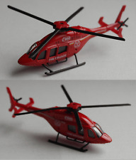 Majorette - Bell 429 rot Fire Brigade Feuerwehr Hubschrauber / Helicopter