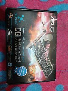 Asus Sonar DG Headphone Amp & PCI 5.1 Audio Card,  Abierto sin usar,