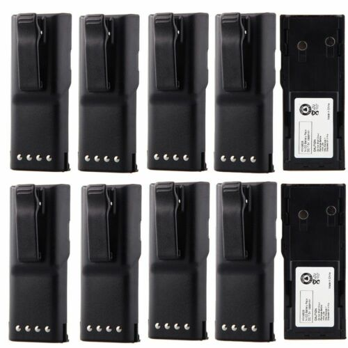 10 Pack 1800mAh Replacement Battery for MOTOROLA GP-300 LCS2000 PTX600 MTX638 US