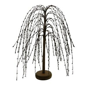 Pip-Berry-Weeping-Willow-Tree-18-Inch-Burgundy-Primitive-Vintage-Decoration-Art