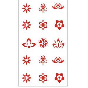 Chic-Face-Stickers-Tattoo-Eyebrow-Stickers-Alte-Kostueme-wasserdicht-Neu