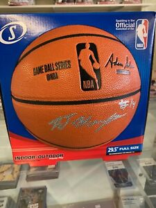Details about RJ Hampton autographed NBA Official Replica Basketball 2021  Draft Top 5 ESPN 100