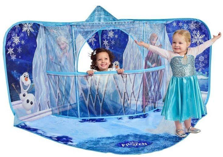Frozen Reine de Glace Anna Elsa - Playscape avec Balcon 3D Culisse Tente - Neuf