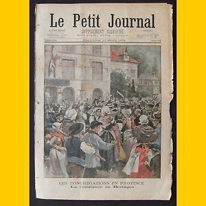 LE-PETIT-JOURNAL-Supplement-illustre-Les-congregations-en-province-17-aout-1902