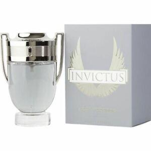 New Paco Rabanne Cologne Invictus EDT Spray 3.4 Men's Fragrance 3349668515660