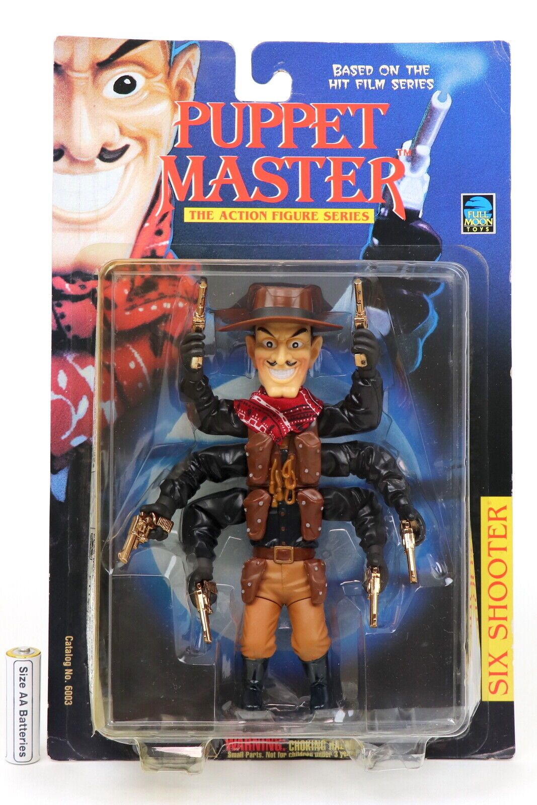 PUPPET MASTER SIX SHOOTER (Japan Release  Limited) FULL MOON TOYS Medicom Toy JP  100% authentique