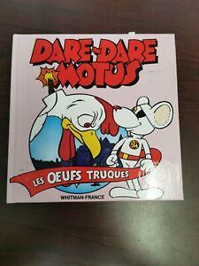 Dare-Dare-Motus-Livre-034-Les-Oeufs-Truques-034-Vintage