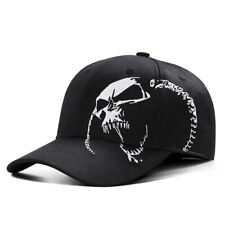 6e4f36203d2fb item 1 Mens Womens Skull Baseball Cap Embroidery Snapback Dad Hat Trucker  Hiphop Sun -Mens Womens Skull Baseball Cap Embroidery Snapback Dad Hat  Trucker ...