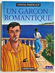 BD-Un-GARCON-ROMANTIQUE-EO-1994-Loustal-amp-Paringaux-TBE