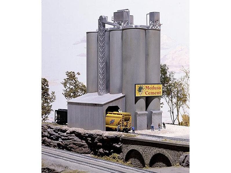 Walthers 933-3218 - fábrica de cemento Medusa-pista N-nuevo