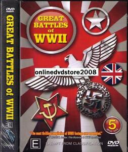 GREAT-BATTLES-of-World-War-II-2-WWII-OVER-12-HOURS-NEW-SEALED-5-DVD-SET