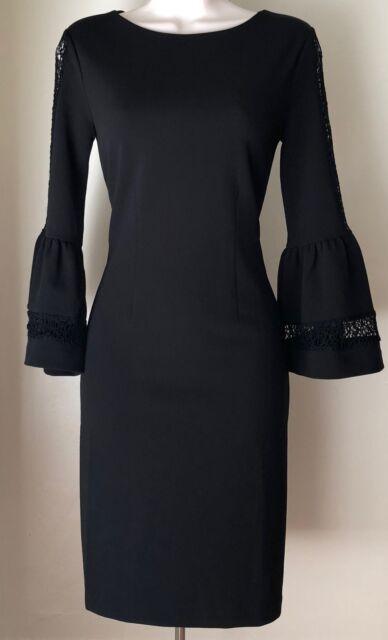 Antonio Melani Tyler Bell Sleeve Knit Dress Size 0 Regular 0 Ebay