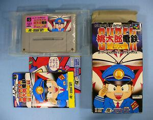 Super-Momotarou-Dentetsu-DX-Nintendo-Super-Famicom-SNES-SFC-1995-Japan-Import