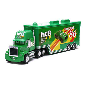 Disney-Pixar-Cars-Mack-NO-86-Chick-Hicks-Truck-1-55-Diecast-Toy-Car-Loose-New