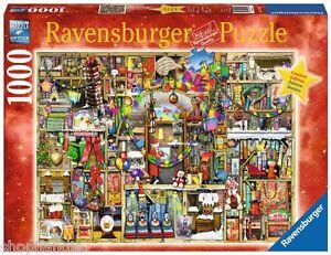 Puzzle-1000-Pezzi-Ravensburger-19561-Colin-Thompson-Puzzle-Christmas-Cupboard
