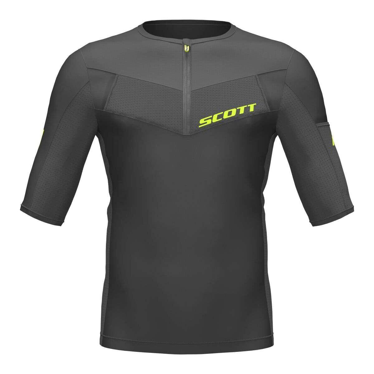 Scott  RC Tech run camisa función camisa negro  hermoso