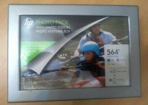 HP 564 Photo Value Pack and Black Ink Cartridge