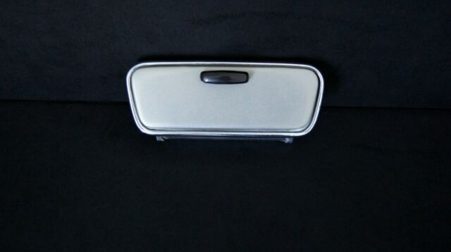 very good condition glass Ashtray TOYOTA