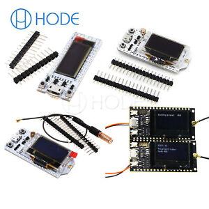 Details about LORA SX1276/SX1278 433Mhz ESP32 WIFI NodeMcu Module  0 91/0 96OLED Display UK
