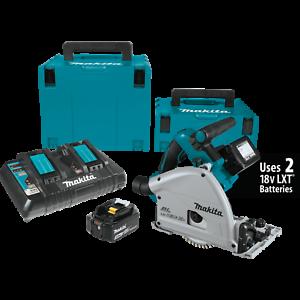 Makita-XPS01PTJ-18V-X2-36V-Brushless-Cordless-6-1-2-034-Plunge-Circular-Saw-Kit