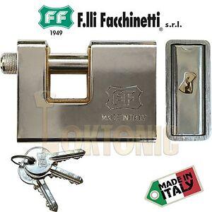 Das Bild Wird Geladen Facchinetti F8370 Voll Gepanzerte  Rechteckig Stahl Rolladen Garage
